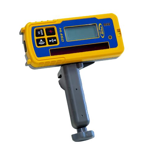 Laserempfänger mit universalklammer